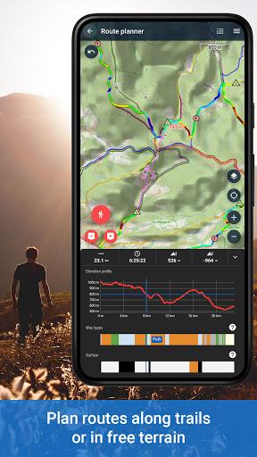 Locus Map 4: Hiking&Biking GPS navigation and Maps 4.2.1 screenshots 2