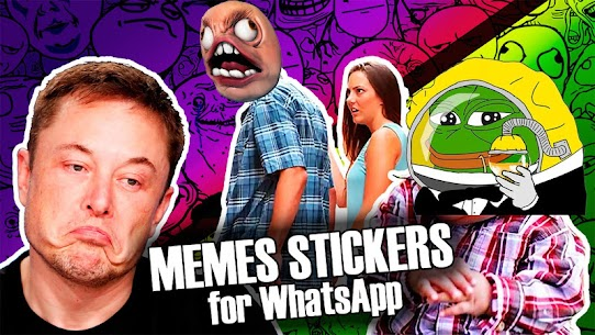 Free Funny Memes Rage Faces Stickers for WAStickerApps Apk Download 2021 5