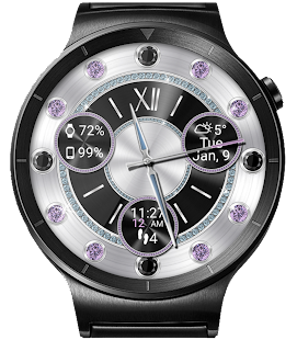 Diamond Royale HD Watch Face Widget Live Wallpaper