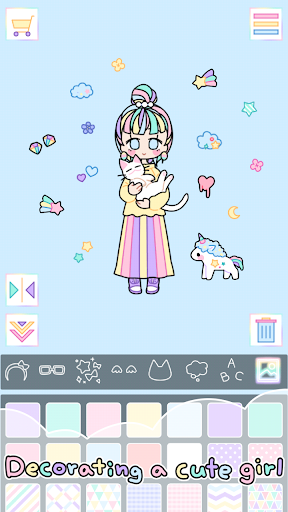 Pastel Girl : Dress Up Game 2.4.8 Screenshots 2
