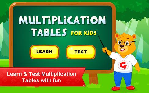 Multiplication Tables   Maths Games for Kids Apk 1