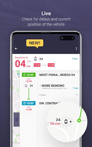 Jakdojade: public transport 4.6.13 Screenshots 3
