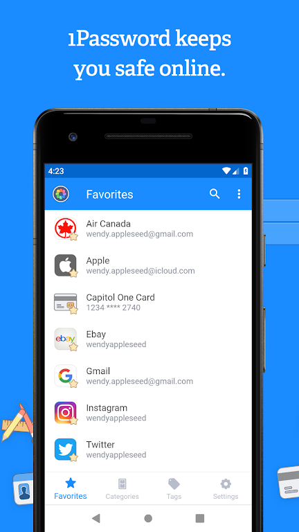 1Password - Password Manager and Secure Wallet  poster 0
