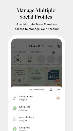 PLANOLY: Schedule Posts for Instagram & Pinterest  Screenshots 7
