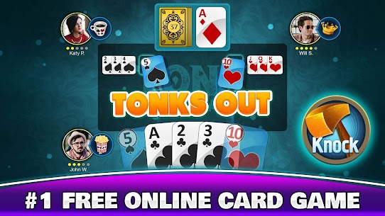 Tonk Multiplayer – Online Gin Rummy Free Variation 1