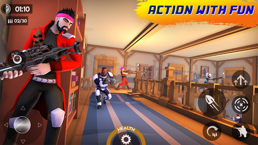 Boom Frag Hero Strikes: Offline PvP New Games 2021  screenshots 1