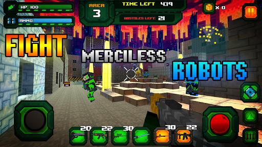 Rescue Robots Sniper Survival screenshots 2