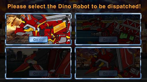 Triceratops - Combine! Dino Robot Fire Truck Squad  screenshots 2