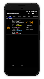 Network Cell Info Screenshot