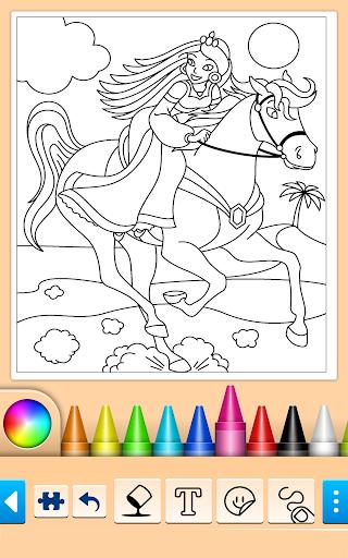 Princess Coloring Game 15.3.8 Screenshots 2