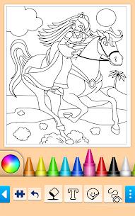 Princess Coloring Game 15.0.8 Mod APK (Unlock All) 2