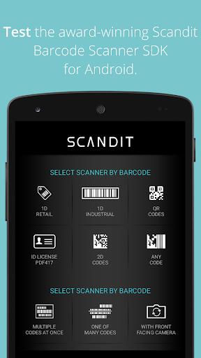Scandit Barcode Scanner Demo 6.7.4 screenshots 1