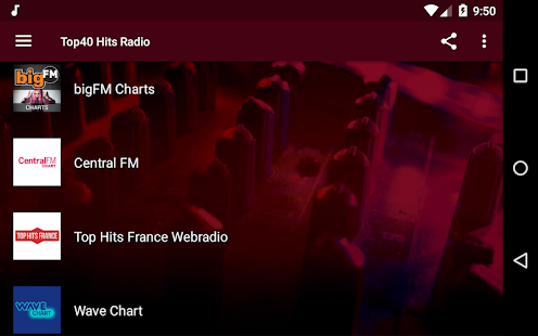 Top40 Hits Radio - All The Latest Hits! Screenshot