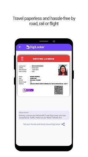 DigiLocker  -  a simple and secure document wallet 6.3.1 Screenshots 3