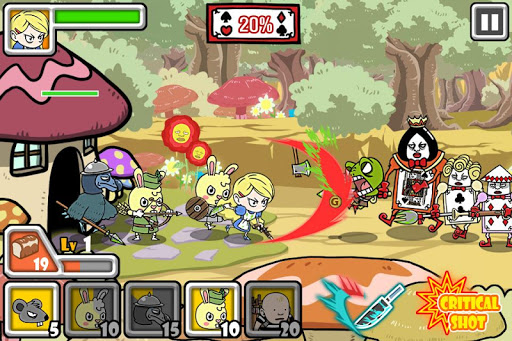 Bloody Alice Defense Apkfinish screenshots 1