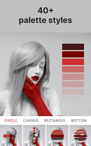 Palette Pantone ud83dudcf7 Add color palettes to photos 2.01 Screenshots 14