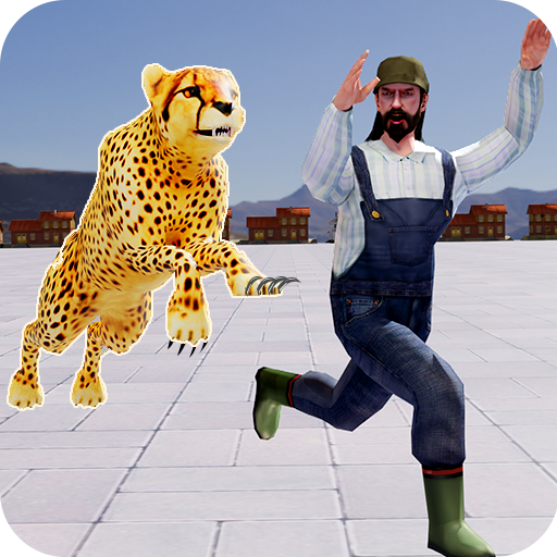 Leopard Survival:Endless Cheetah rush Animal Game