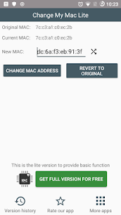 Change My Mac Lite MOD APK 1