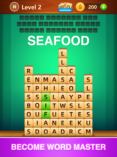 Word Fall - Brain training search word puzzle game android2mod screenshots 9