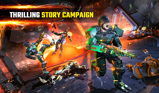 SHADOWGUN LEGENDS - FPS and PvP Multiplayer games apkpoly screenshots 19