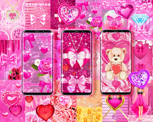 Wallpapers for girls apktram screenshots 1