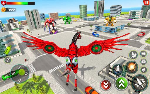 Horse Robot Games - Transform Robot Car Game  screenshots 1