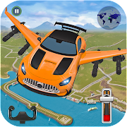 Flying Car Shooting- Ultimate Car Flying Game