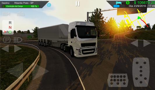 Heavy Truck Simulator Screenshot