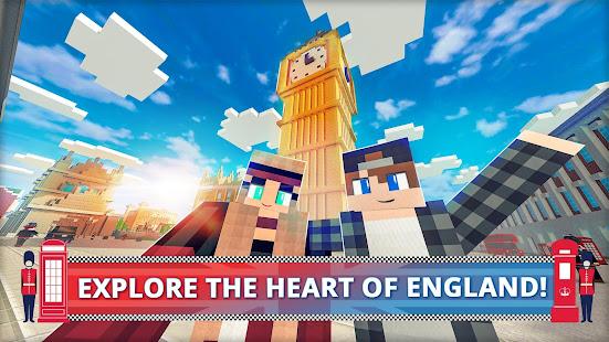 London Craft: Blocky Building Games 3D 2018 1.4-minApi19 Screenshots 1