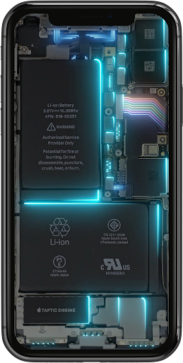 Phone Electricity Live Wallpaper  Screenshots 4
