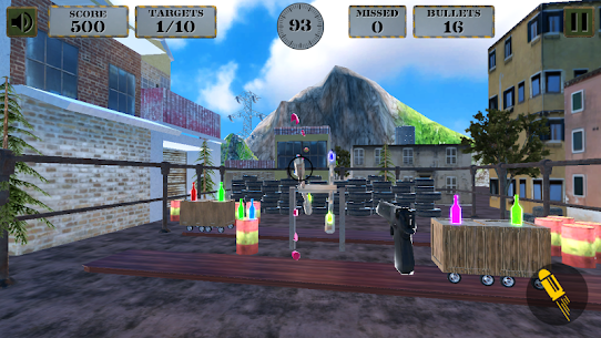 3d Bottle Shooting Gun Game Game Hack Android and iOS 5