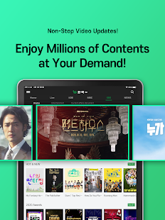 Enjoy Hankook TV together, Anytime Anywhere!