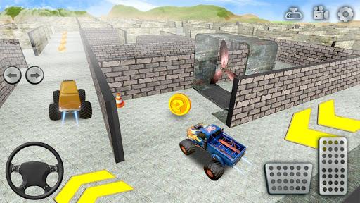 Monster Truck Maze Driving 2020: 3D RC Truck Games  screenshots 16