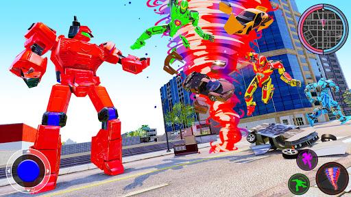 Air Robot Tornado Transforming - Robot Games apkmartins screenshots 1