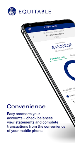 Equitable Mobile App screenshot 1