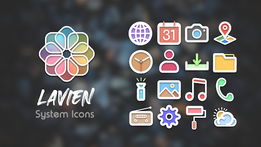 Download APK: Lavien Icon Pack v0.7 [Mod] [Sap]