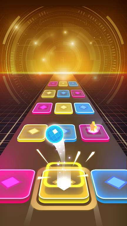 Color Hop 3D - Music Game poster 1