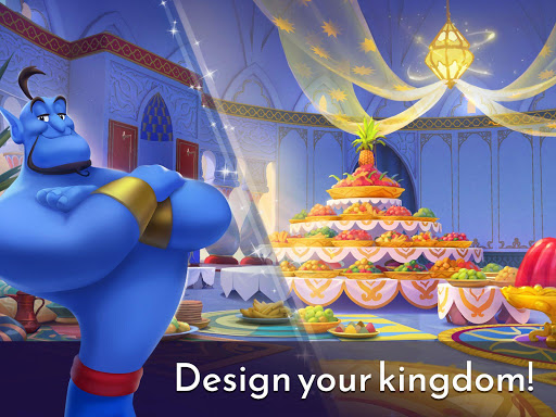 Disney Princess Majestic Quest: Match 3 & Decorate  screenshots 11