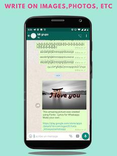 Fonts - Stylish Text & Cool Fonts 1.2.2 Screenshots 7