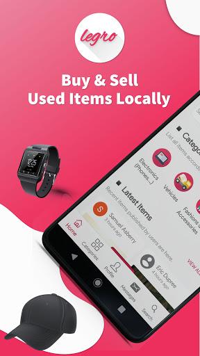 Legro - Buy & Sell Used Stuff Locally 3.6 Screenshots 1