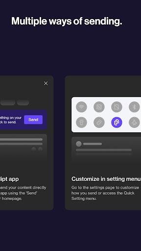 Clipt - Copy & Paste Across Devices screenshots 6
