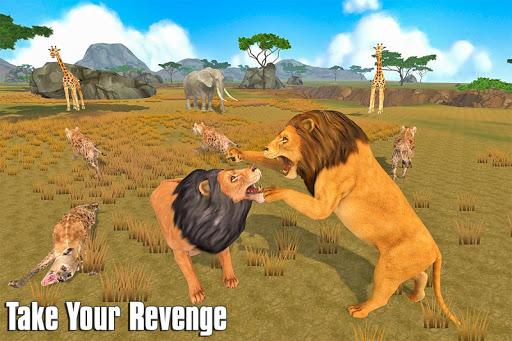 The Lion Simulator: Animal Family Game apktram screenshots 7