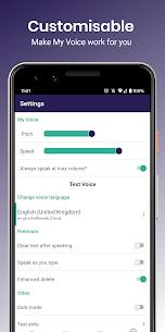 My Voice Mod Apk- Text To Speech (TTS) 1.10.9 (Pro Unlocked) 5