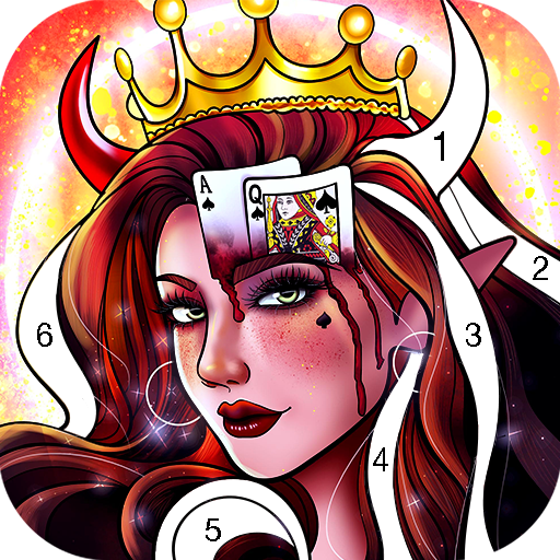 Witch Coloring Games Offline, Free Paint by Number