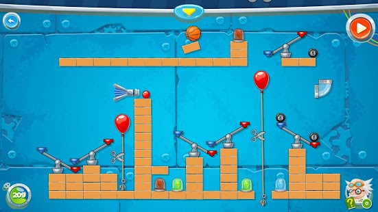 Rube's Lab - Physics Puzzle Screenshot