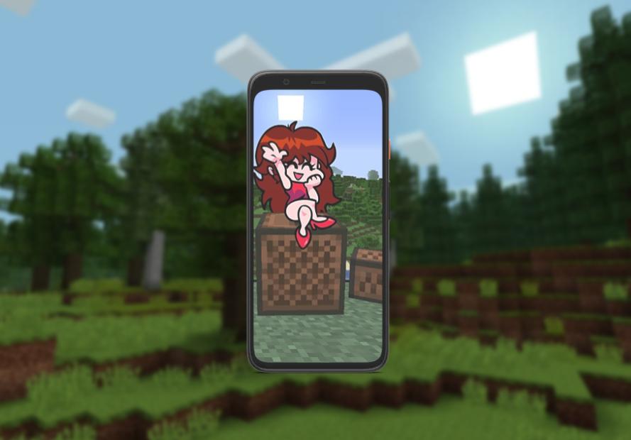 Captura de Pantalla 4 de A Friday Night Funkin mod for MCPE para android