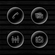 Dark Space Rusted Silver Icons Download on Windows