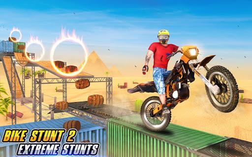 Bike Stunt 2 New Motorcycle Game - New Games 2020 1.26 screenshots 5