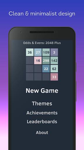 odds & evens: 2048 plus screenshot 1