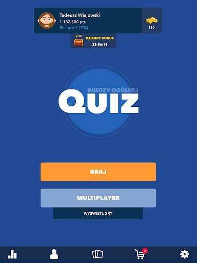 Super Quiz - Wiedzy Ogu00f3lnej Polskie screenshots 9